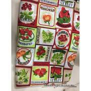 Vải thô hình trái cây