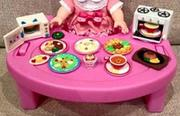 Set bàn ăn dành cho búp bê