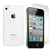 Bộ ốp lưng silicon và kính cường cực Apple iPhone 4S