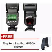 Flash Godox Li-ion VING V860II for Sony + Tặng kèm 1 softbox GODOX sb1010