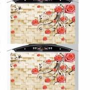 Bộ 2 giấy dán bếp cách nhiệt cỡ lớn 60x90cm (Hoa leo tường)