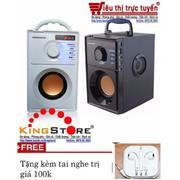 Loa di động đa năng A10 âm thanh nổi 2.1 stereo có FM radio, chơi nhạc MP3 từ thẻ nhớ và ổ USB tặng ...