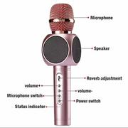 Micro kèm Loa Bluetooth cao cấp Magic E103 đa năng hát Karaoke + Tặng kèm Cốc sạc cho Mic và điện th...