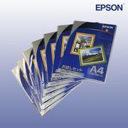 Bộ 3 Hộp Giấy In Ảnh Epson SemiGloss A4 251g 20 Tờ - Hàng Nhập Khẩu