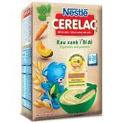 Bột Ăn Dặm Nestle Cerelac - Rau Xanh Và Bí Đỏ (200g)