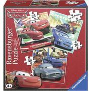 Bộ 3 xếp hình phim Cars 25/ 36/ 49 mảnh - Ravensburger 7258