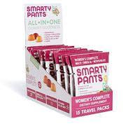 SmartyPants Women's Complete Gummy Vitamins: Multivitamin, CoQ10, Folate (Methylfolate), Vitamin K2,...