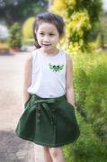 Genii Kids - Áo thun  đắp nổi hình trái tim có cánh (2T-11T)