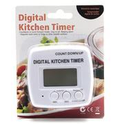 Đồng hồ điện tử canh thời gian chế biến thực phẩm có nam châm UBL KA0188N (Trắng)