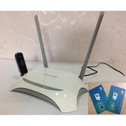 Bộ phát Wifi từ USB Tp-Link Mr3420 kèm USB Huawei E3256-21.6Mb tốc độ cao, ổn đinh và Sim 3G Viettel...