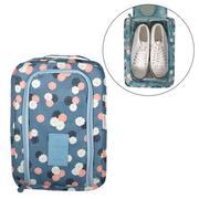 Túi đựng giày du lịch mẫu mới chống thấm - hoa xanh