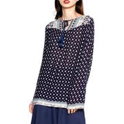 Áo dài tay Four-Side Arrow màu xanh đen thời trang Modus - MD16108520-PR