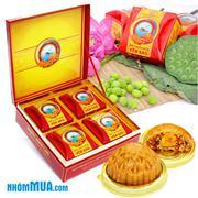 Bánh Trung thu cao cấp Sanest Moon Cake - 08 Chi Nhánh