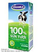 Sữa tươi tiệt trùng 100% có đường - Hiệu Vinamilk
