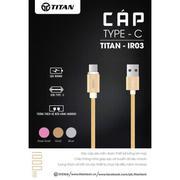 Cáp type C Titan dành cho smartphone - BH 12 tháng toàn quốc