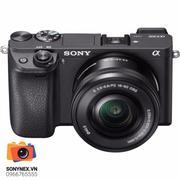 Sony Alpha A6300 24MP với Lens kit 16-50 F3.5-5.6 OSS (Đen) + Tặng gói cài ứng dụng Application + 1 ...