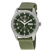 Đồng hồ nam dây du Seiko 5 SNZG09 (Xanh lá)