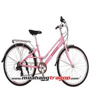 Xe đạp thời trang TRINX CUTE 3.0 2016 Hồng