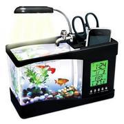 Bể cá phong thủy mini để bàn sử dụng nguồn USB