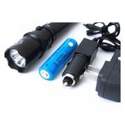 Đèn pin siêu sáng HY-110 (Đen)