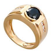 Nhẫn nam Sapphire vàng 18K