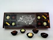 Hộp 9 viên D'art Chocolate 1 viên SCL NT Love you 10x15 và 8 viên SCL tươi