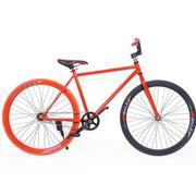 Xe đạp Fixed Gear Single Cổ Chữ A New 2017 màu Đỏ SportSlink FIXEDGEAR-17-DO
