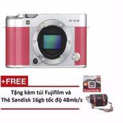 Máy ảnh Fujifilm X-A3 Body 24.2MP + Tặng kèm Thẻ nhớ 16GB 48MB/s + Túi máy ảnh Fujifilm và 01 Sách c...