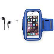 Bộ bao tay tập thể thao armband 5.5 inch + Tặng 1 tai nghe