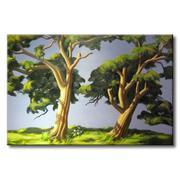 Tranh in canvas sơn dầu Thế Giới Tranh Đẹp Scenery 020