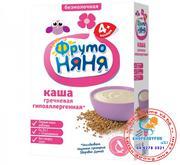 Bột ăn dặm Fruto của Nga vị kiều mạch , sữa 200g 4m+