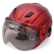 Mũ Bảo Hiểm Nửa Đầu Có Kính GRS A737K Bóng