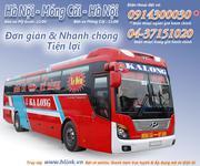 Vé xe khách chất lượng cao chuyên tuyến Hà Nội - Móng Cái