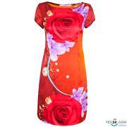 Áo dài tay con cam in họa tiết - MAD002