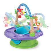 Ghế tập ngồi 3 giai đoạn có thanh đồ chơi Summer Infant - Xanh - SM13290