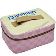 Hộp cơm điện hâm nóng Chefman lồng nhựa (hồng)