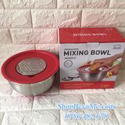 Bộ tô trộn + bào cắt rau củ bằng inox Mixing BowlLock&Lock 20cm