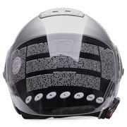 Mũ bảo hiểm Andes AS-202D (Bạc trắng)