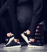 giày sandal nam quai xéo