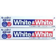 Kem đánh răng White & White Lion của Nhật
