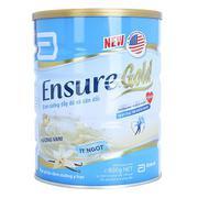 Sữa bột Abbott Ensure Gold Hương vani (Ít ngọt) 850g