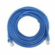 Dây cáp mạng CAT5E UTP 2mét bấm sẵn 2 đầu màu xanh