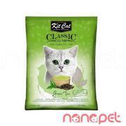 Cát Vệ Sinh Cho Mèo KitCat Trà Xanh 10L
