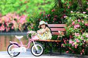 Xe đạp Little Swan 18 Màu Hồng
