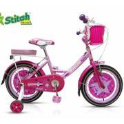 Xe đạp trẻ em Stitch Family JK906 16\ (Hồng)
