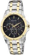 Đồng hồ nam Bulova 98C120 Two Tone Multifunction Watch