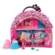 Bộ búp bê Barbie Rock and Royals kèm túi Vinyl