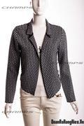 Áo khoác len đen