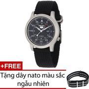Đồng hồ nam dây thép không gỉ Seiko SNK809K1 (Bạc)             ...
