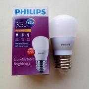 Bóng đèn Philips Ledbulb 3.5W E27 3000K 230V A60 Ánh sáng( Vàng)